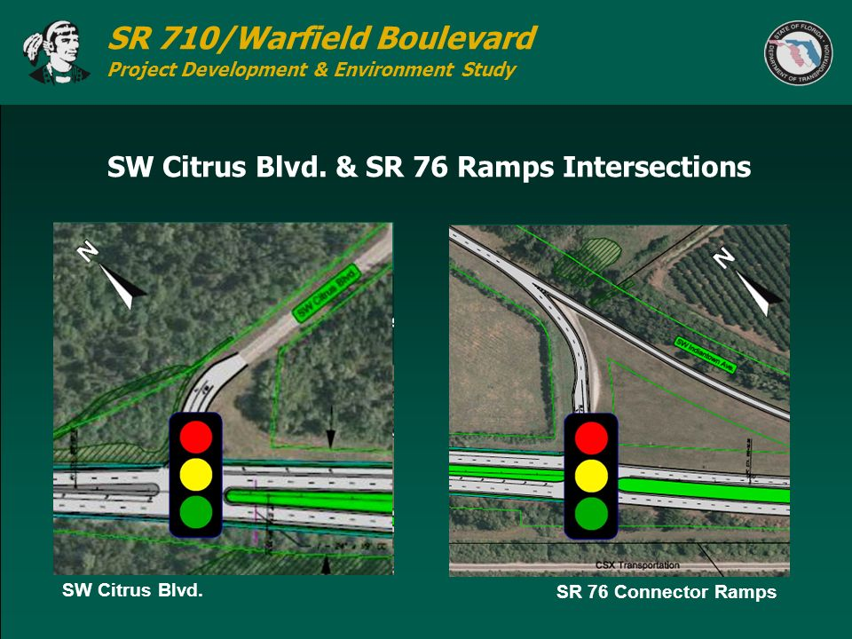 SW Citrus Blvd. & SR 76 Ramps Intersections