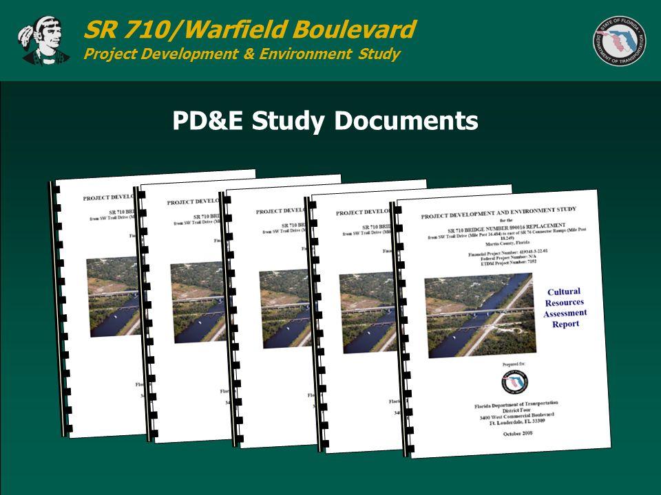 PD&E Study Documents