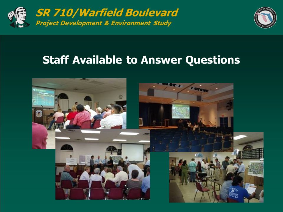 Staff Available to Answer Questions