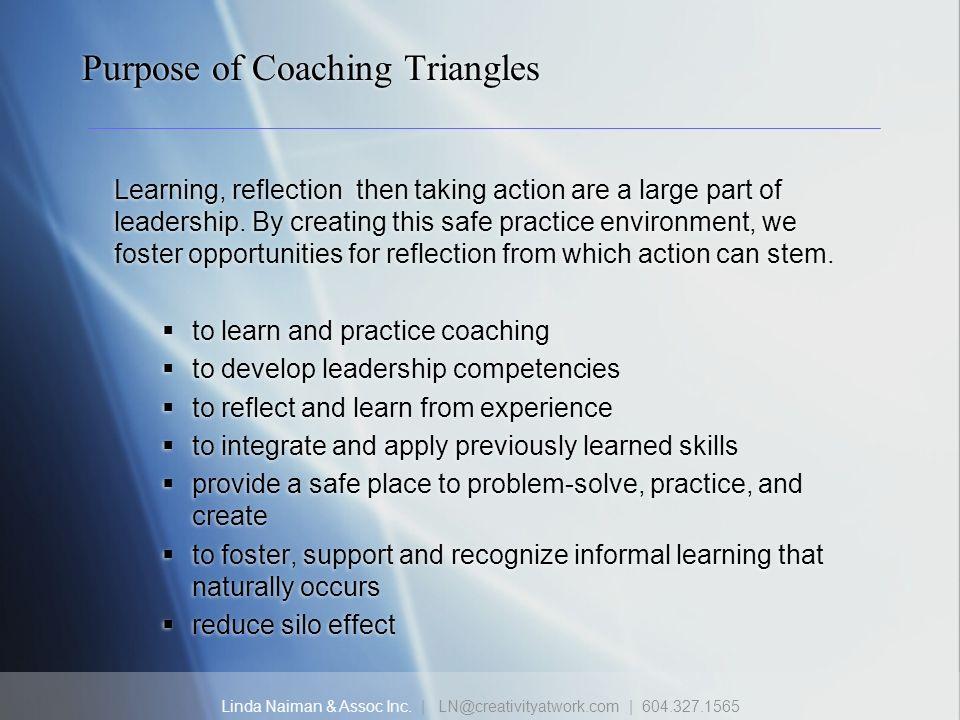 Purpose of Coaching Triangles