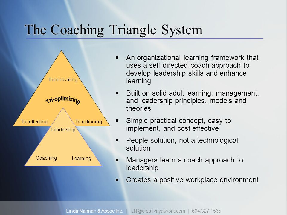 The Coaching Triangle System