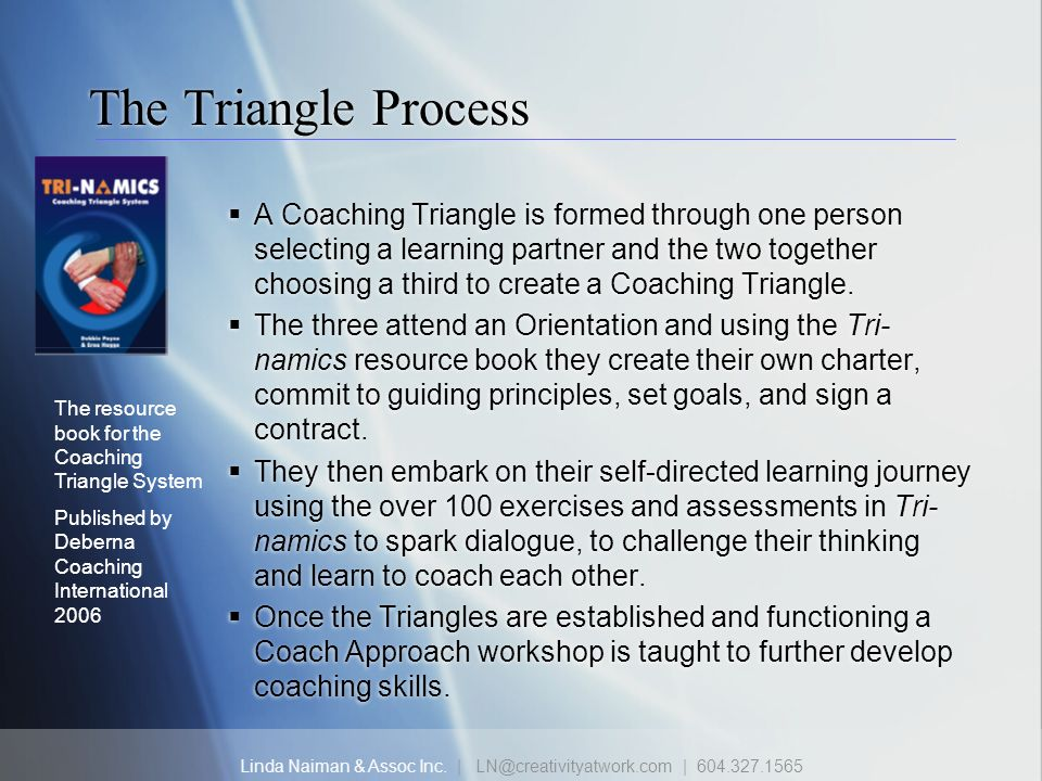 The Triangle Process