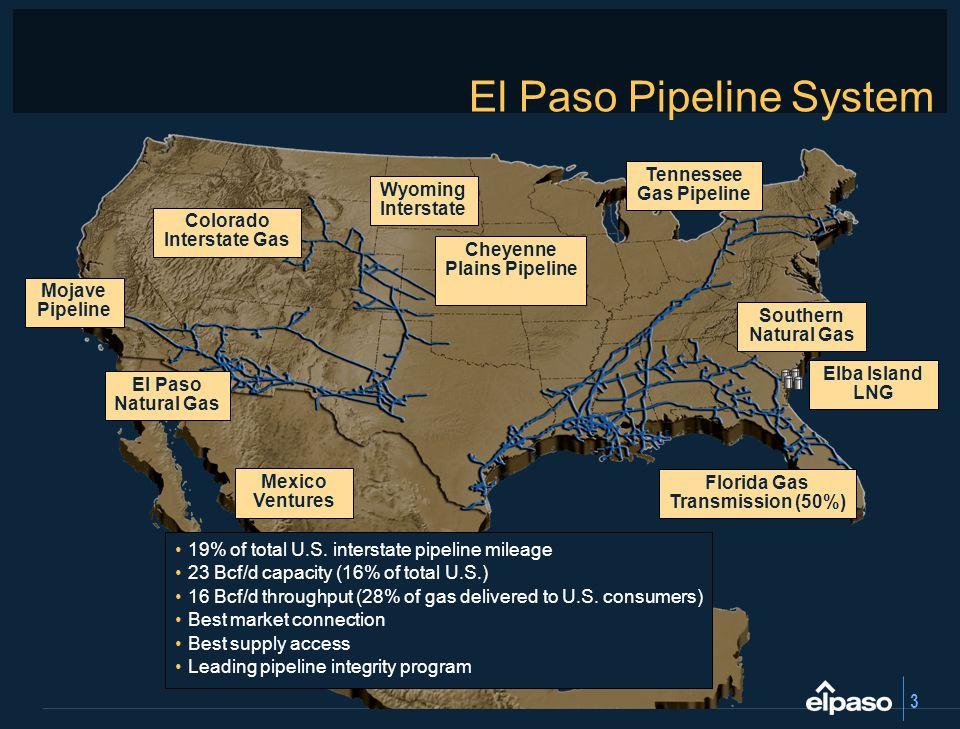 El Paso Pipeline System