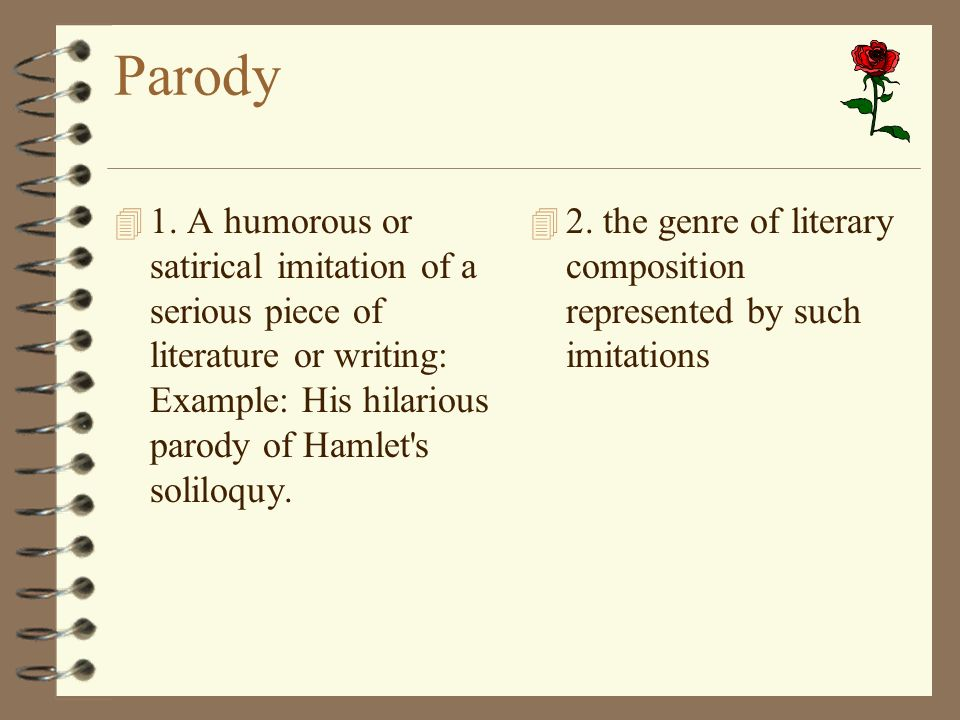 The hamlet parodies essay Research paper Sample - August 2019