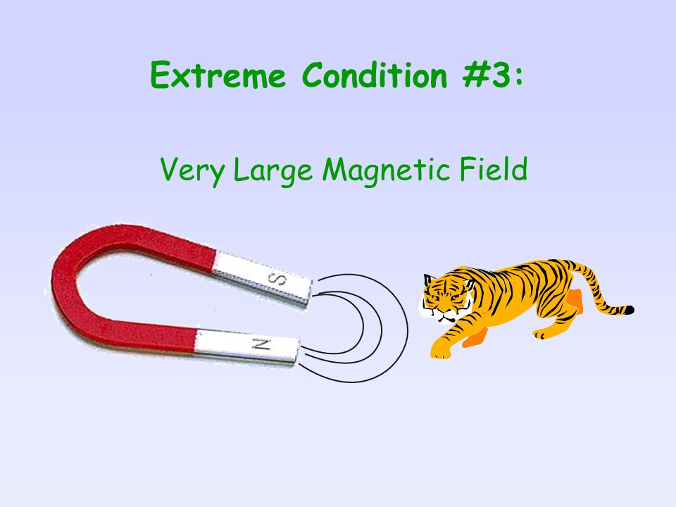Very Large Magnetic Field