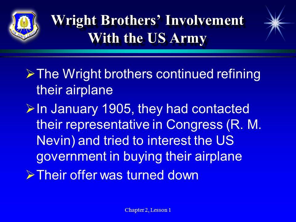 Wright Brothers' Involvement With the US Army