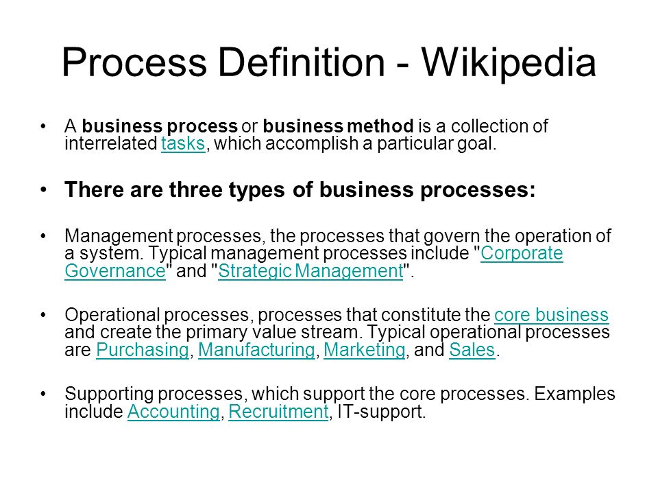 Process Definition - Wikipedia