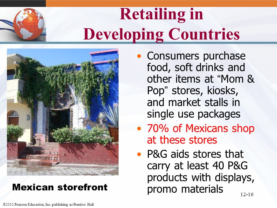 Retailing in Developing Countries