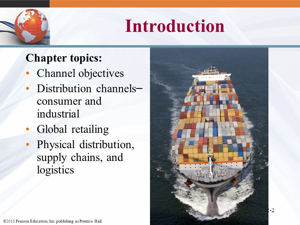 Introduction Chapter topics: Channel objectives