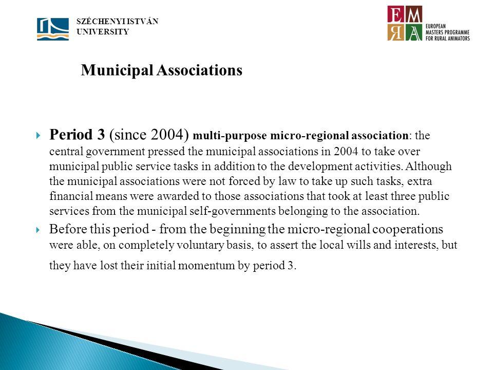 Municipal Associations