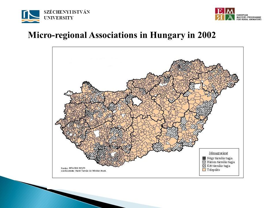 Micro-regional Associations in Hungary in 2002