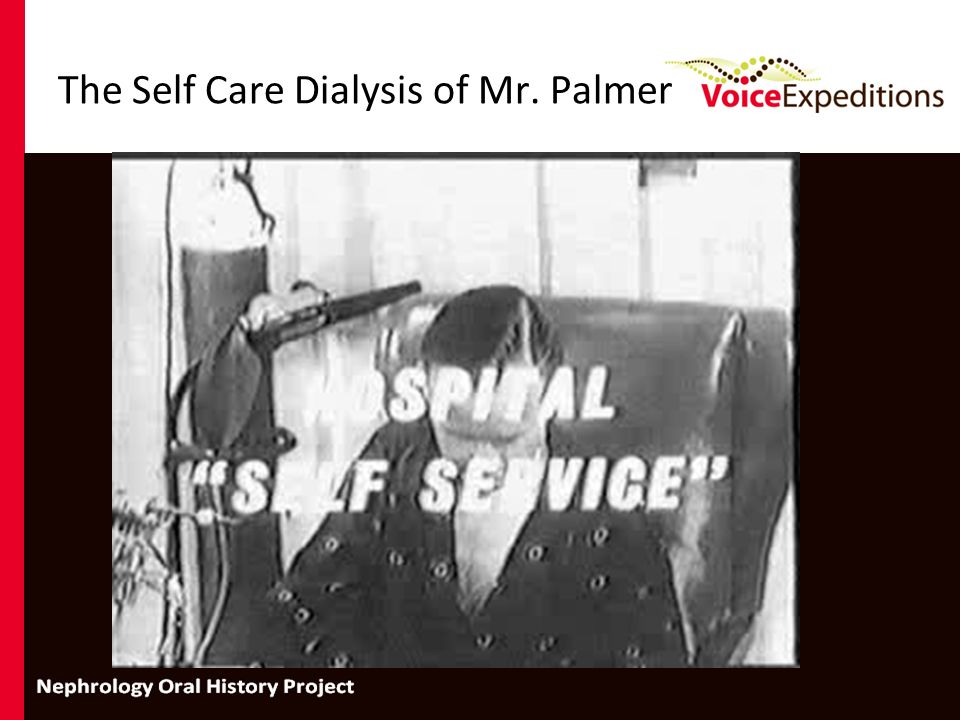 The Self Care Dialysis of Mr. Palmer