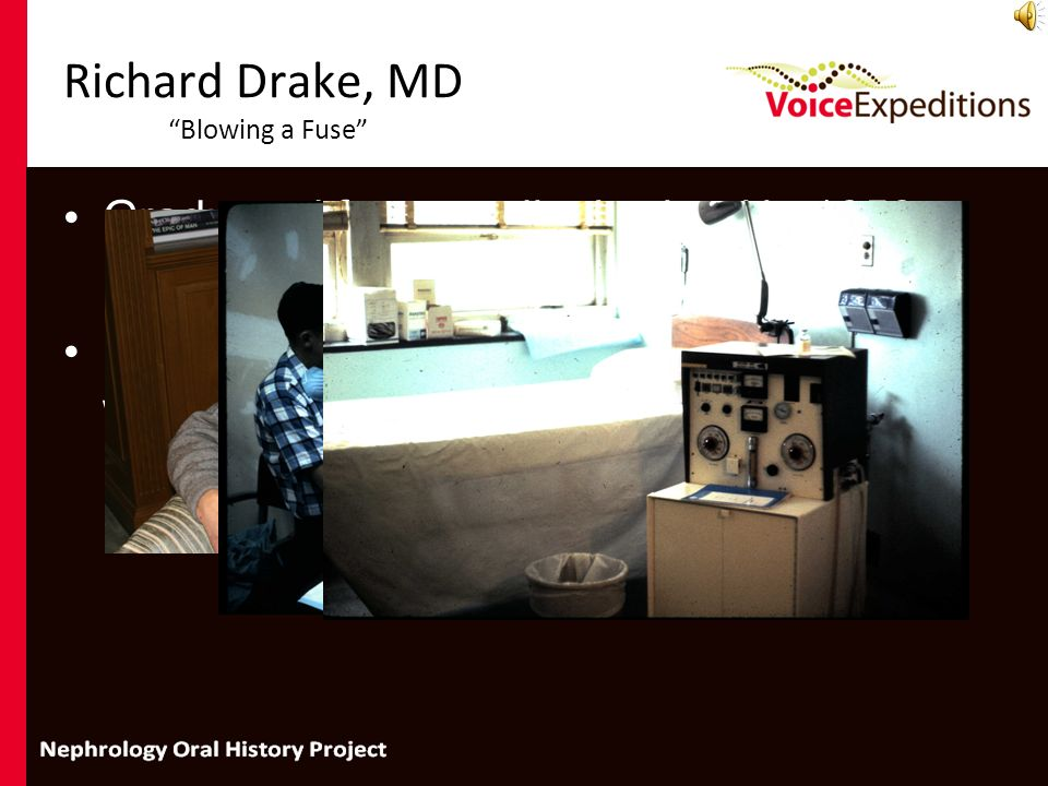 Richard Drake, MD Blowing a Fuse