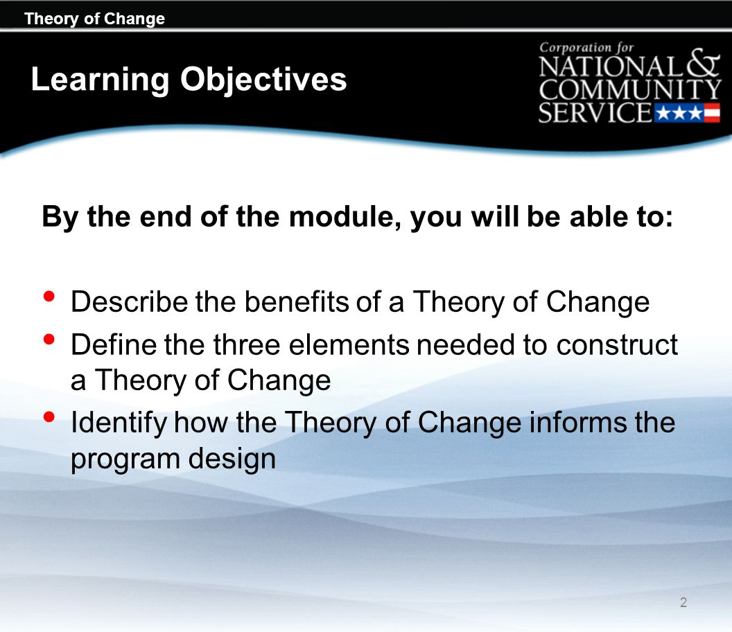 Learning Objectives By the end of the module, you will be able to: