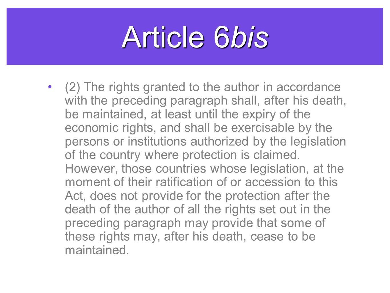 Article 6bis