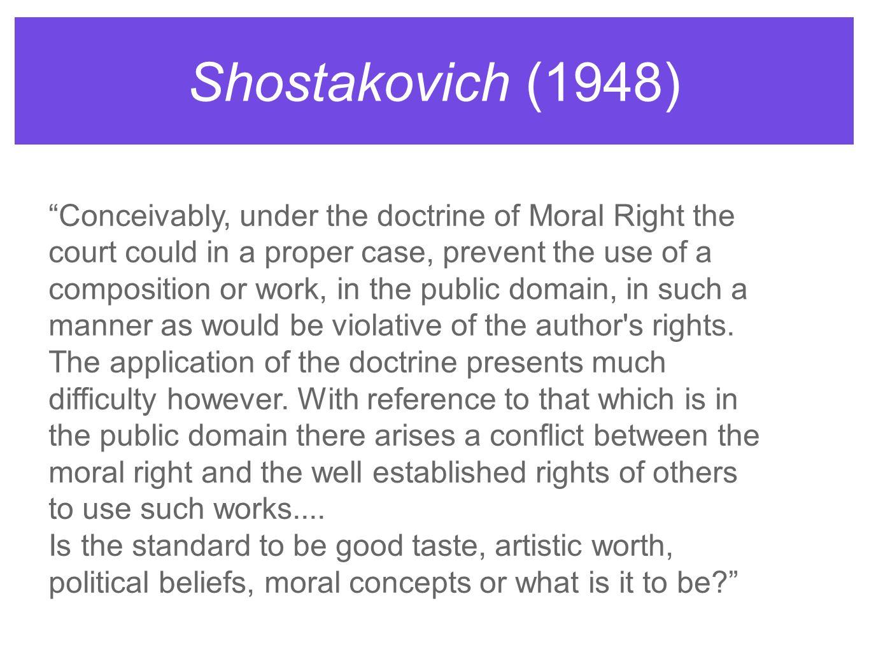 Shostakovich (1948)