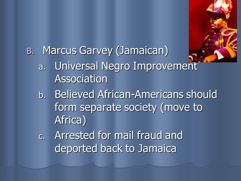 Marcus Garvey (Jamaican)