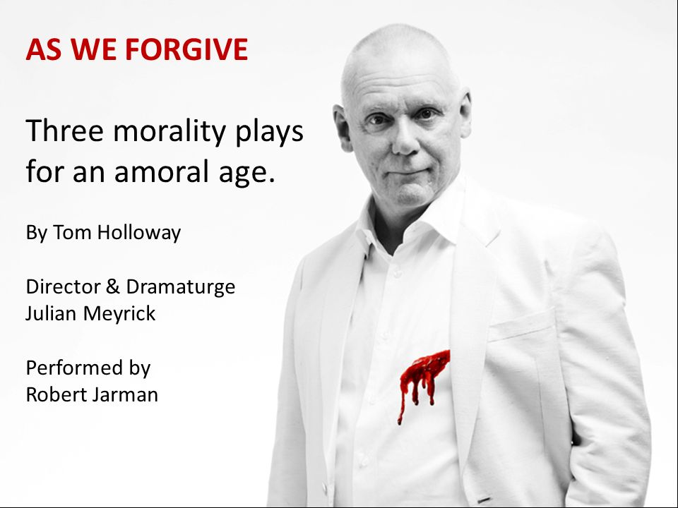 Three morality plays for an amoral age.