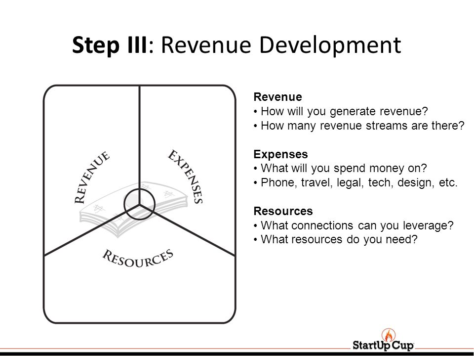 Step III: Revenue Development