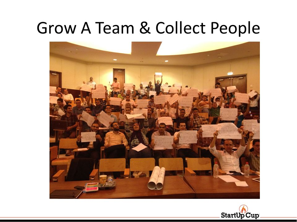 Grow A Team & Collect People