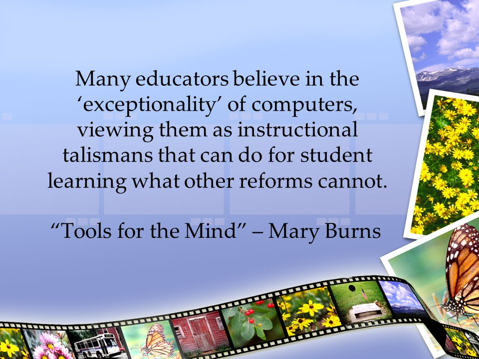 Tools for the Mind – Mary Burns