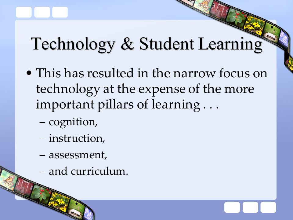 Technology & Student Learning