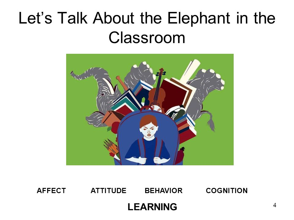 Let's Talk About the Elephant in the Classroom