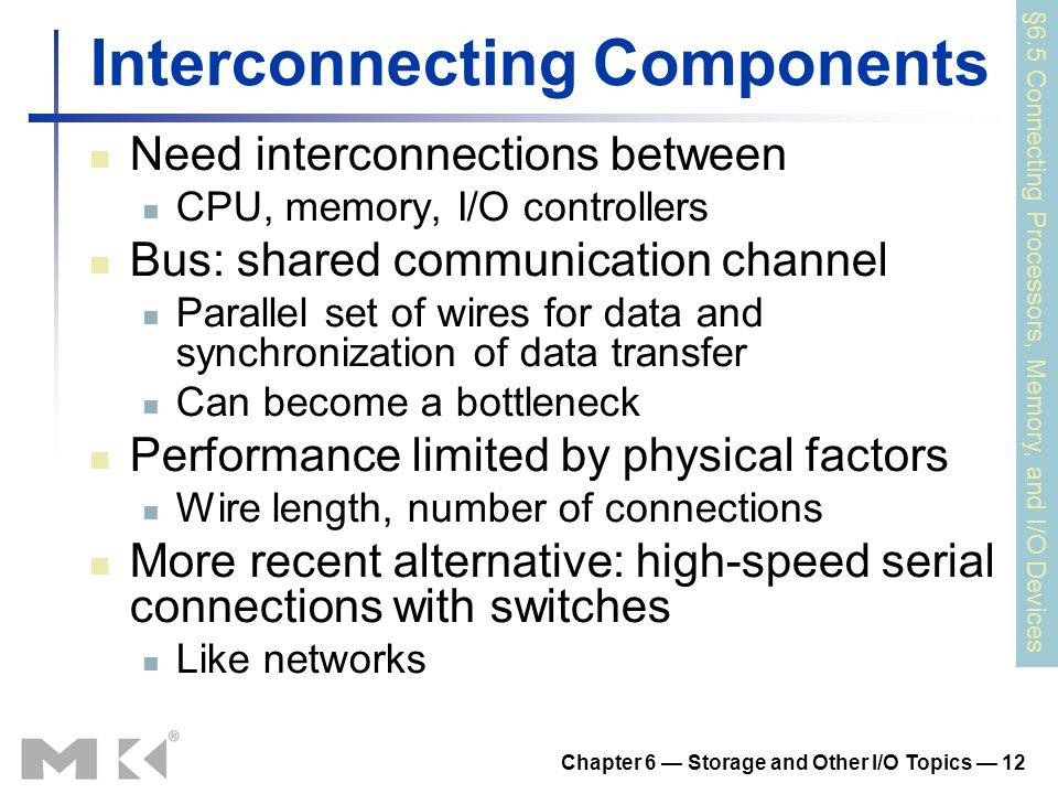 Interconnecting Components
