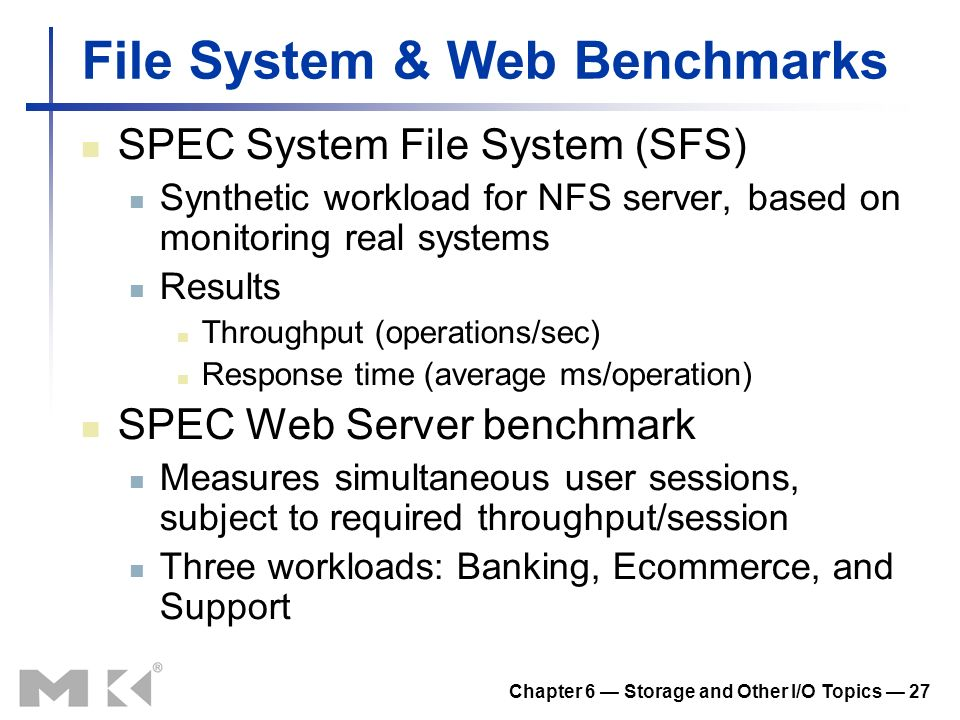 File System & Web Benchmarks