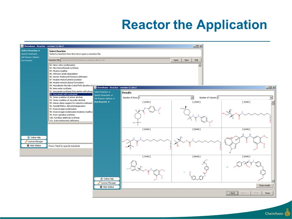 Reactor the Application