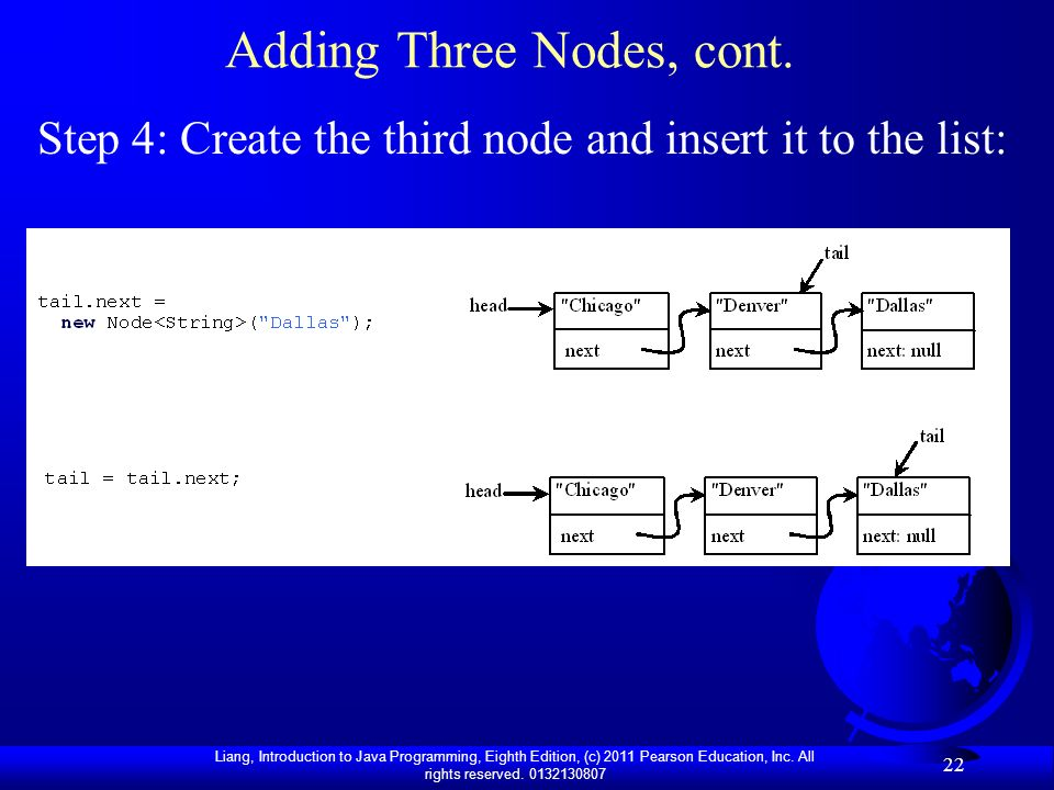 Adding Three Nodes, cont.