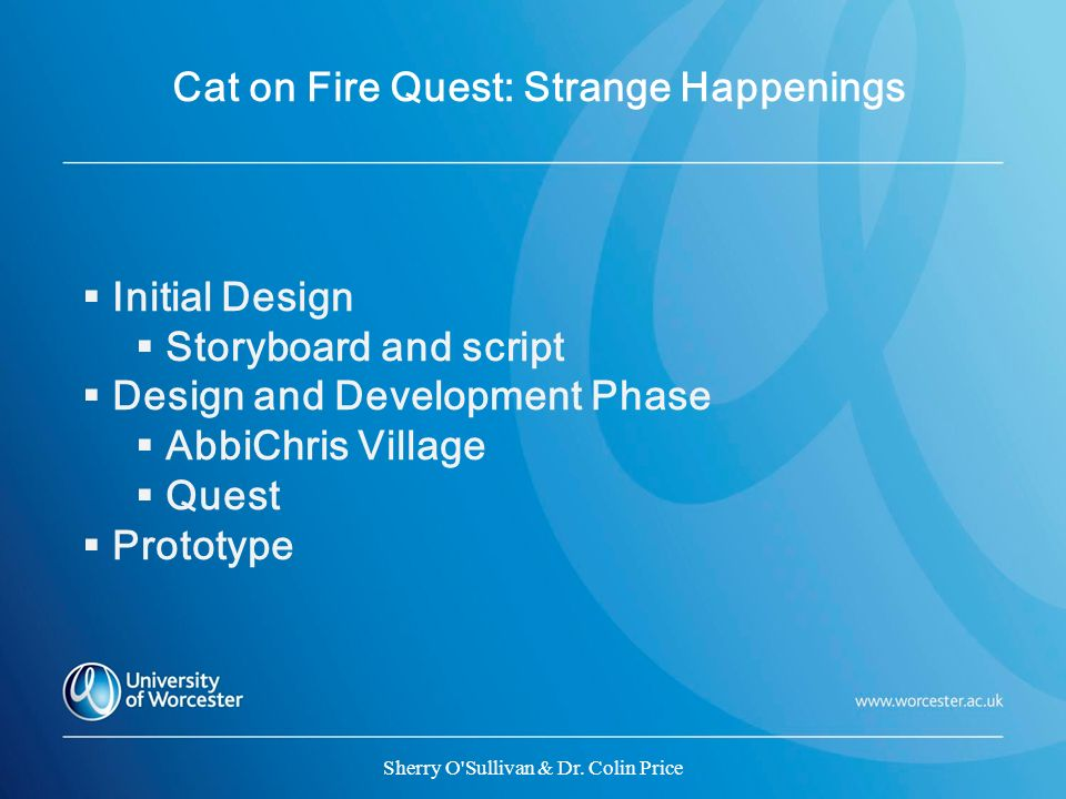 Cat on Fire Quest: Strange Happenings