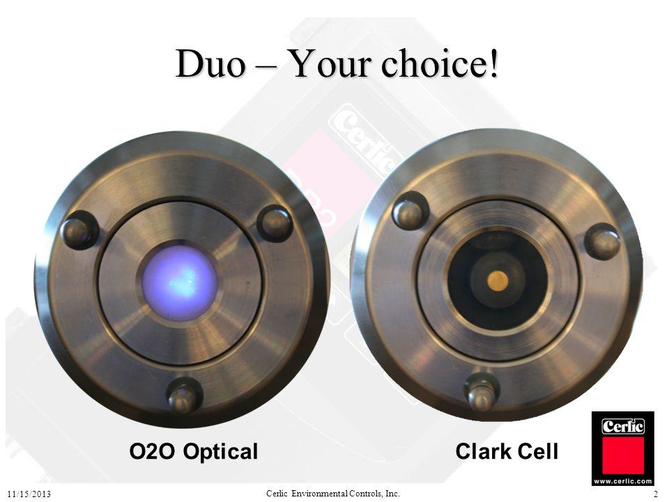 Duo – Your choice! O2O Optical Clark Cell 3/25/2017