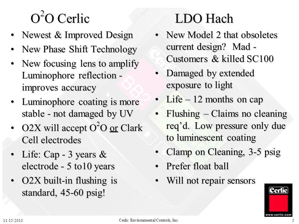O2O Cerlic LDO Hach Newest & Improved Design