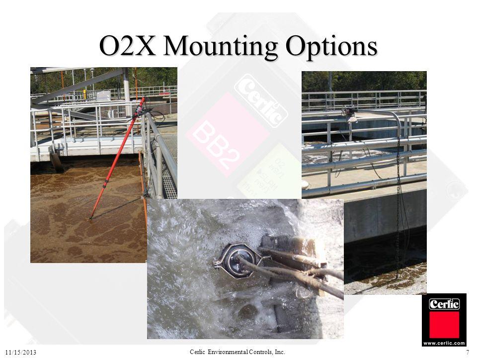 O2X Mounting Options 3/25/2017