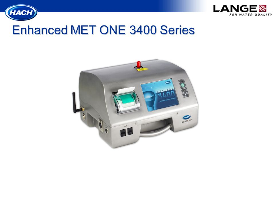 Enhanced MET ONE 3400 Series