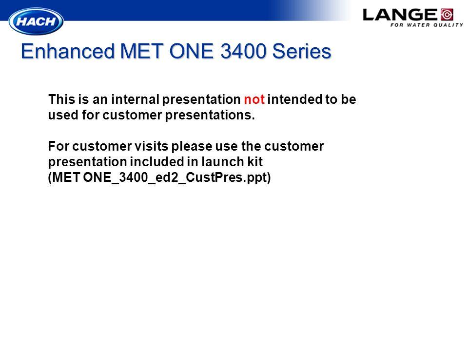 Enhanced MET ONE 3400 Series