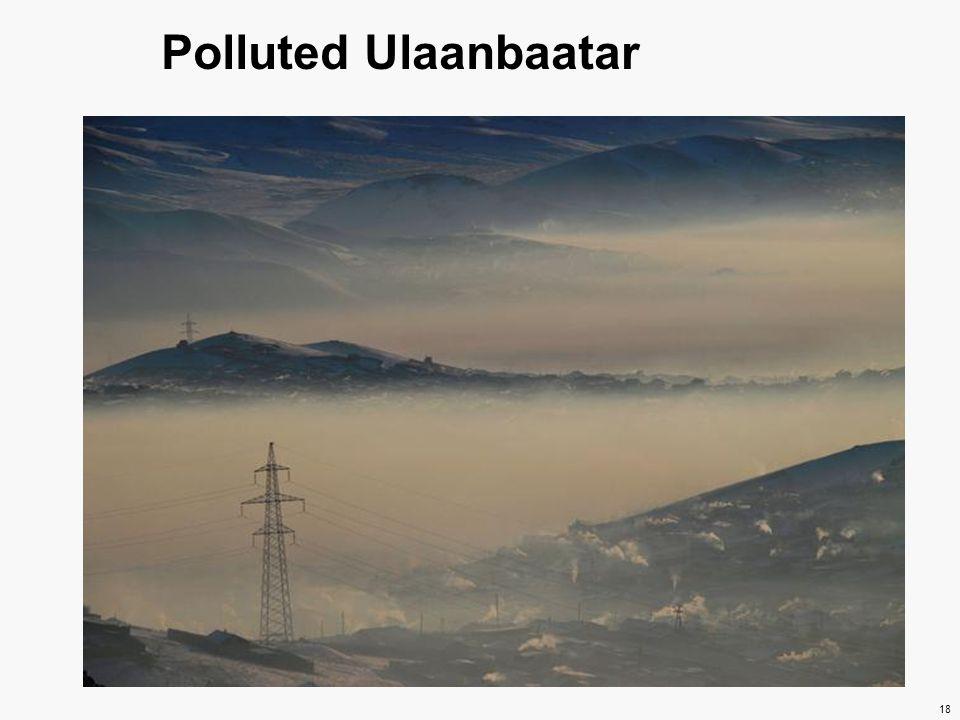 Polluted Ulaanbaatar 18