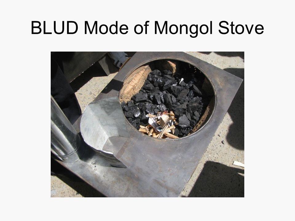 BLUD Mode of Mongol Stove