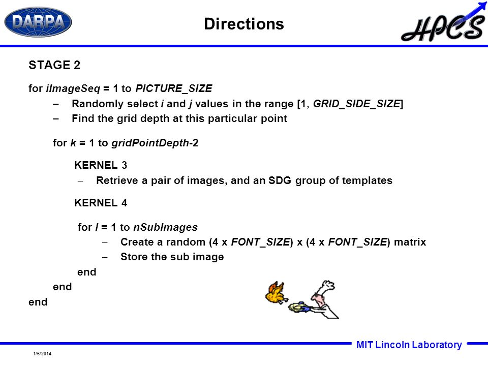 Directions STAGE 2 for iImageSeq = 1 to PICTURE_SIZE