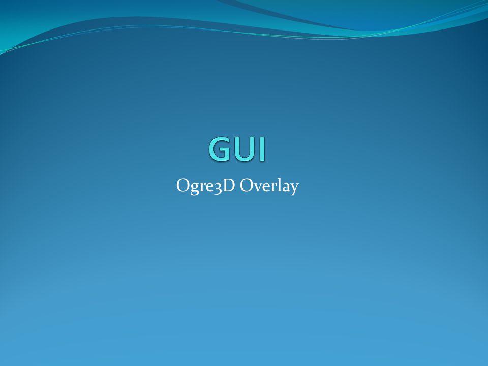 GUI Ogre3D Overlay