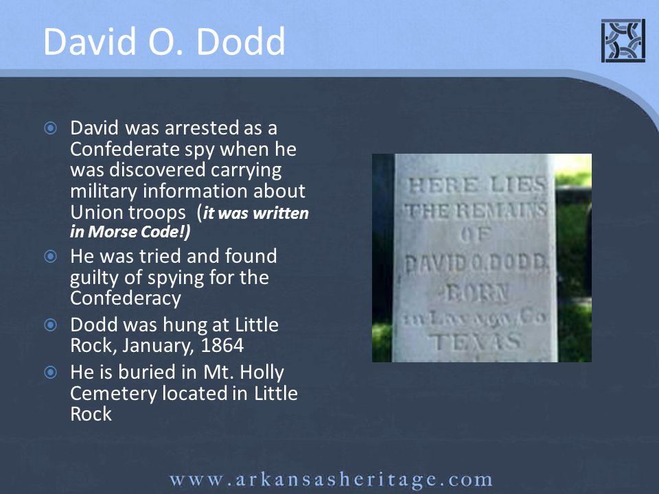 David O. Dodd