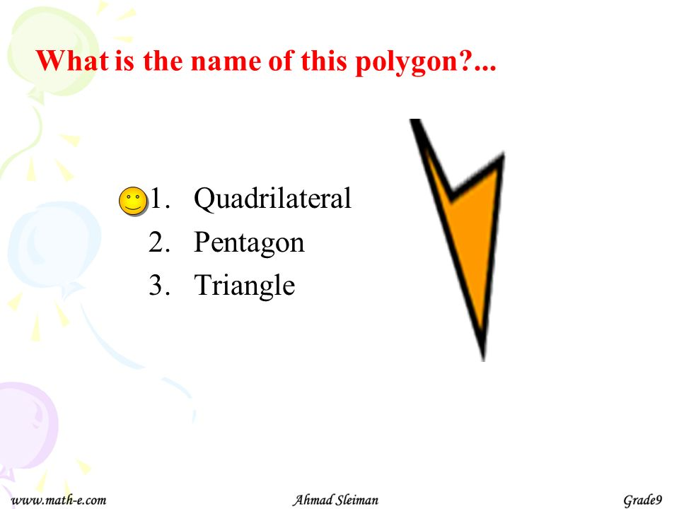 What is the name of this polygon ...