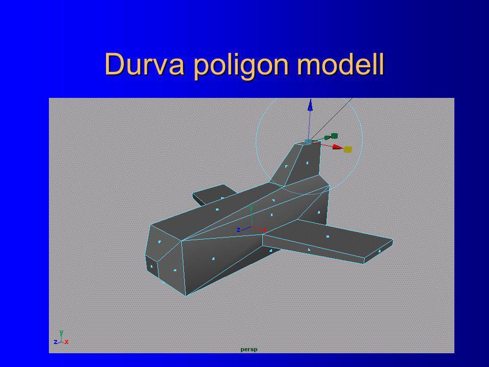 Durva poligon modell