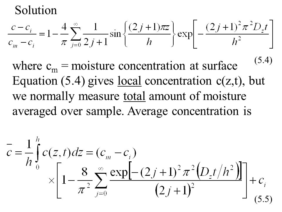 Solution (5.4)
