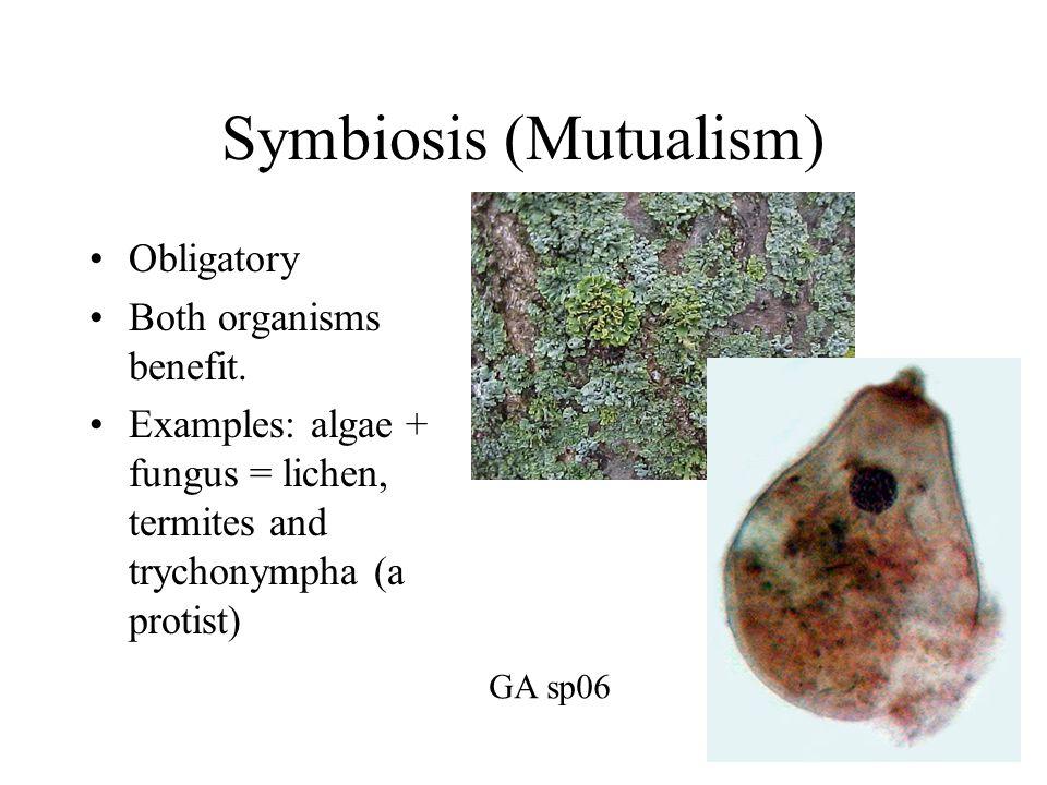 Symbiosis (Mutualism)