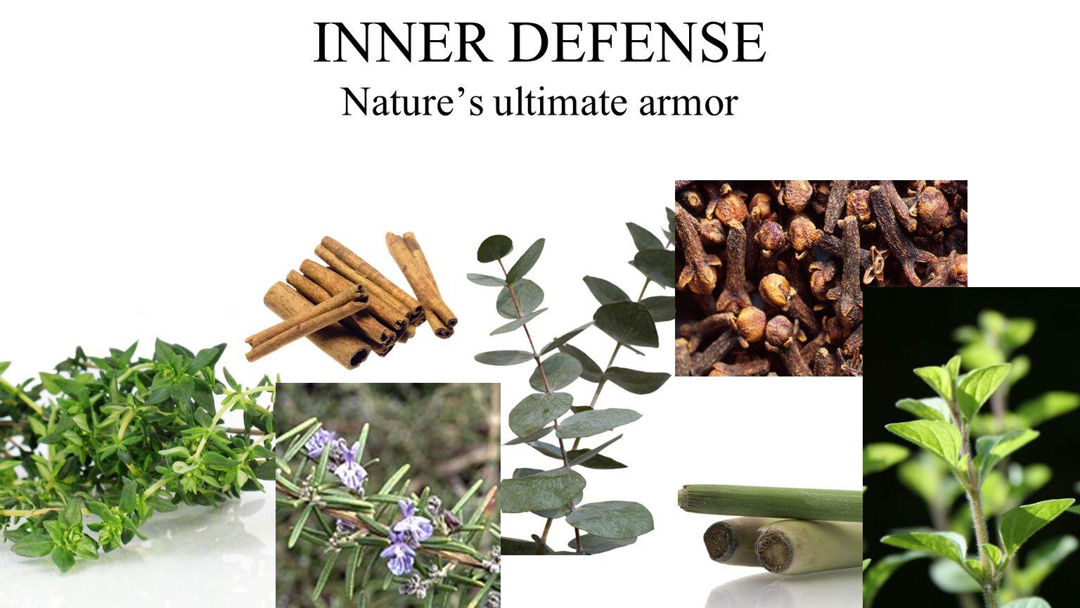INNER DEFENSE Nature's ultimate armor