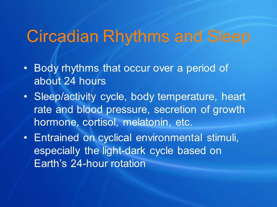 Circadian Rhythms and Sleep