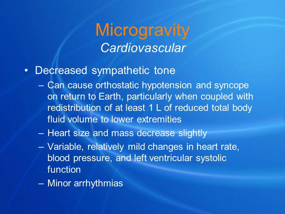 Microgravity Cardiovascular
