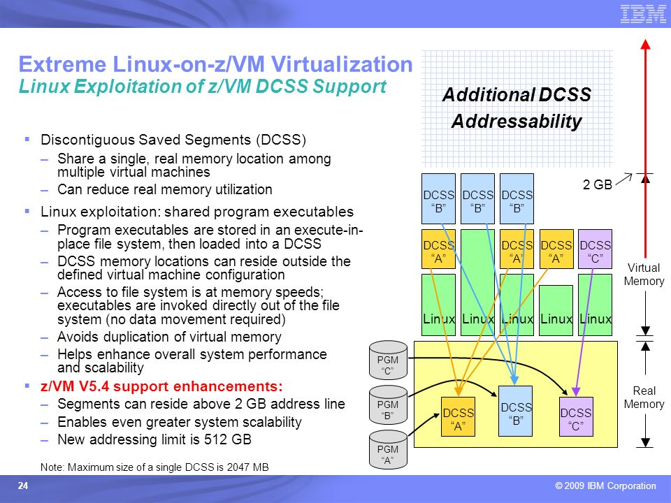 Additional DCSS Addressability